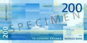 banknot, norwegia, korony