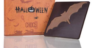 Czekoladowe prezenty na Halloween – Nietoperze